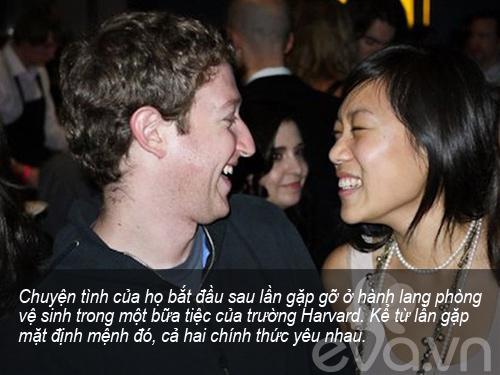 """""""chuyen tinh harvard"""" cua ong chu facebook - 1"""
