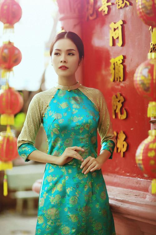 """duong cam lynh: """"ao dai la niem tu hao trong nhung nam du hoc"""" - 12"""