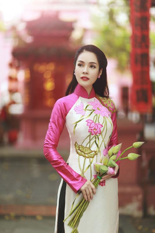 """duong cam lynh: """"ao dai la niem tu hao trong nhung nam du hoc"""" - 9"""