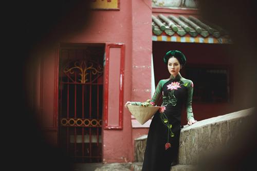 """duong cam lynh: """"ao dai la niem tu hao trong nhung nam du hoc"""" - 7"""