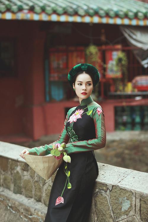 """duong cam lynh: """"ao dai la niem tu hao trong nhung nam du hoc"""" - 5"""
