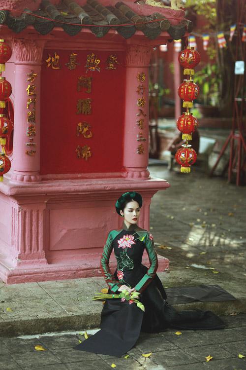 """duong cam lynh: """"ao dai la niem tu hao trong nhung nam du hoc"""" - 6"""