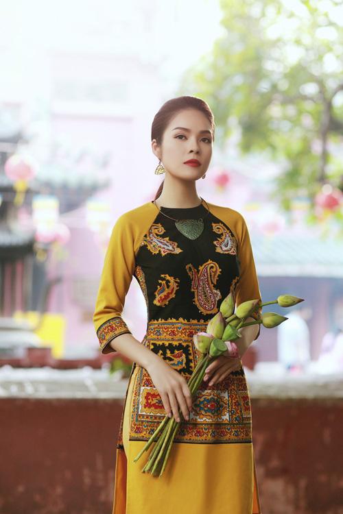 """duong cam lynh: """"ao dai la niem tu hao trong nhung nam du hoc"""" - 1"""