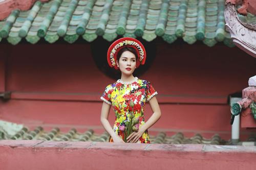 """duong cam lynh: """"ao dai la niem tu hao trong nhung nam du hoc"""" - 10"""