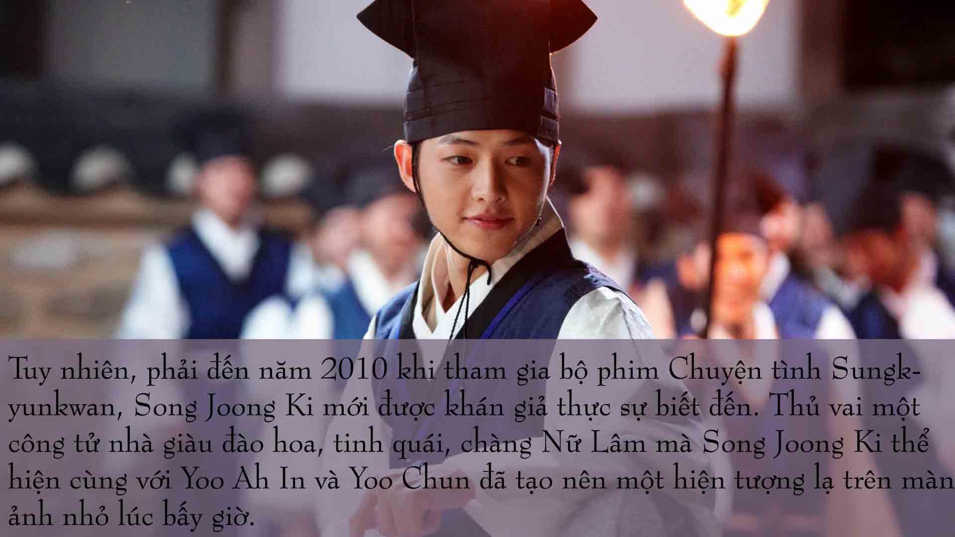 """con duong tro thanh """"soai ca quan nhan"""" cua song joong ki - 3"""