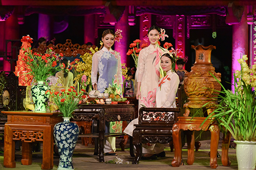 ngoc han trinh dien ao dai cung nguoi khuyet tat - 12
