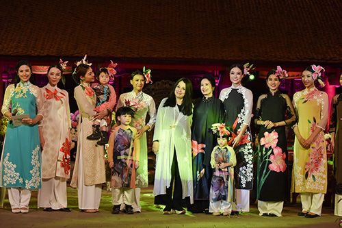 ngoc han trinh dien ao dai cung nguoi khuyet tat - 14
