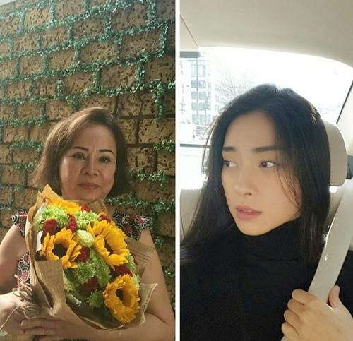 8/3: ngoc thach nhan hoa hong vang, binh minh tang vo banh kem - 20