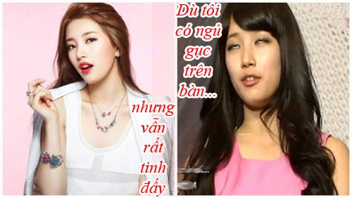 "15 buc hinh ""dim hang"" nhat cua nhung idol dep nhat - 2"