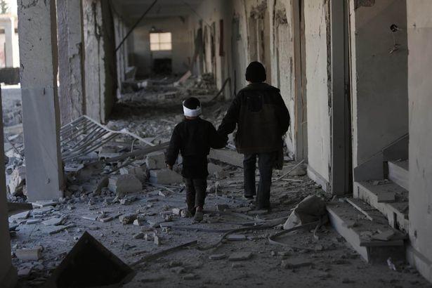 """dau thuong canh 25 van tre em syria """"cho ngay chet"""" - 5"""