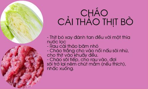kho cong thuc chao an dam ngon bo cho be chong lon - 1