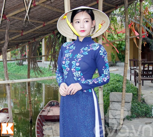 t-ara dep hut hon khi dien ao dai truyen thong viet nam - 1