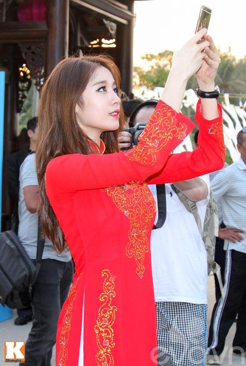 t-ara dep hut hon khi dien ao dai truyen thong viet nam - 4
