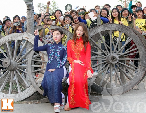 t-ara dep hut hon khi dien ao dai truyen thong viet nam - 6