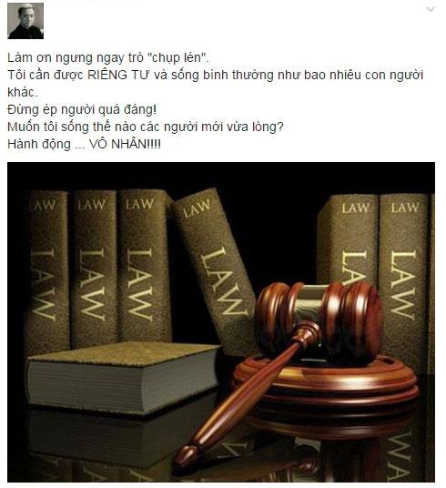 """tran thanh goi hanh dong chup len la """"vo nhan"""" - 1"""