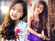 """Làm mẹ - Bé gái Hải Dương 7 tuổi cao 1m42 đúng chuẩn """"hoa hậu"""""""