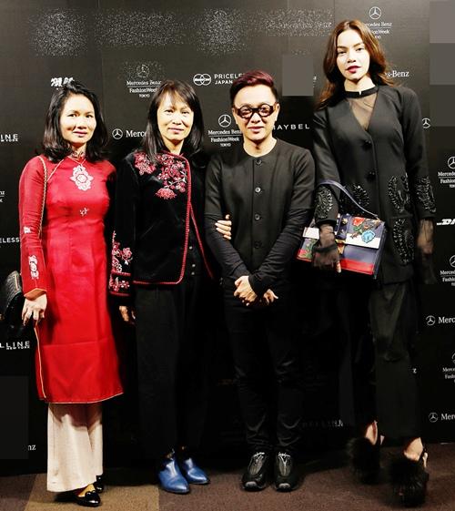 ho ngoc ha sanh dieu tham du tokyo fashion week 2016 - 10