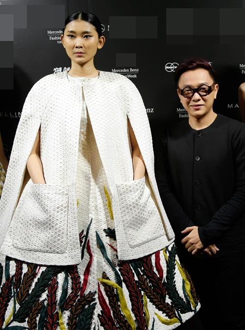 ho ngoc ha sanh dieu tham du tokyo fashion week 2016 - 11