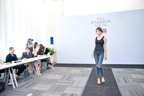 kha my van khoe chan dai khi casting the fashion show - 8