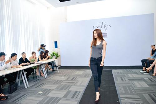 kha my van khoe chan dai khi casting the fashion show - 9