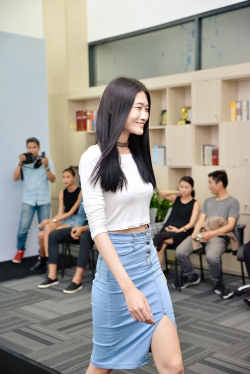 kha my van khoe chan dai khi casting the fashion show - 5