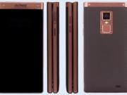 Eva Sành điệu - Gionee W909: Điện thoại vỏ sò đầu tiên có cảm biến vân tay