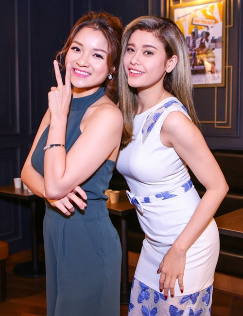 truong quynh anh, thuy top den chuc mung tang nhat tue - 5