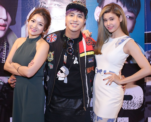 truong quynh anh, thuy top den chuc mung tang nhat tue - 9