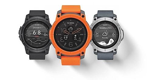 nixon mission, smartwatch lan sau den 100 met - 1