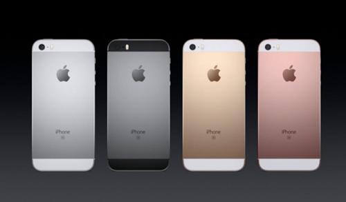 """apple ra mat iphone se: """"hon iphone 6s, da iphone 5s"""" gia gan 9 trieu dong - 1"""