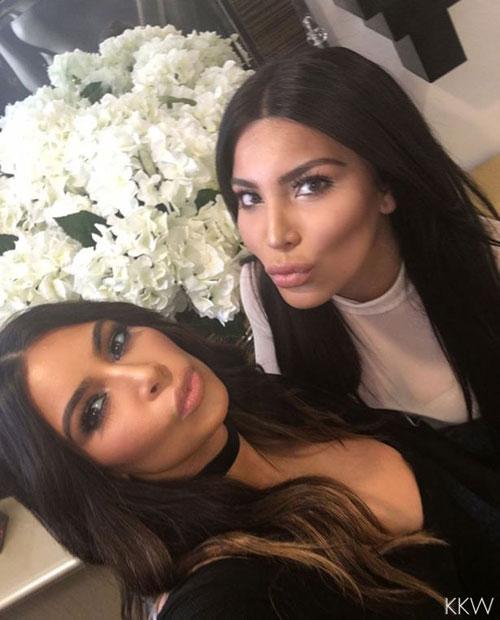 "showbiz 24/7: lo ""chi em sinh doi"" cua kim kardashian - 1"