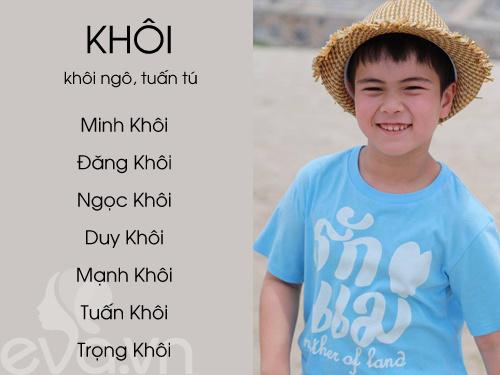 top ten sang, nghia dep cho be trai 2016 (phan 1) - 20