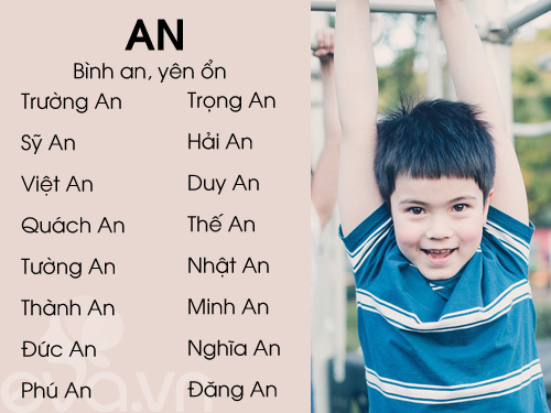top ten sang, nghia dep cho be trai 2016 (phan 1) - 1