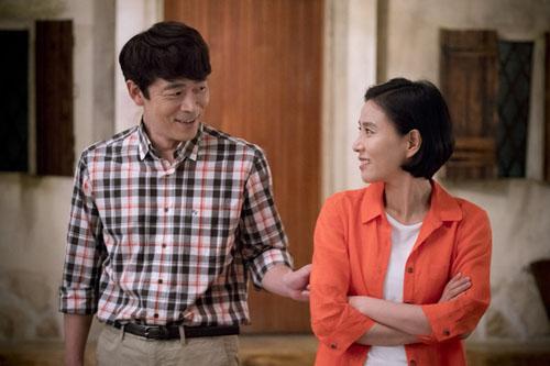 """vo jin goo ung ho chong """"yeu"""" kim ji won trong hau due cua mat troi - 12"""