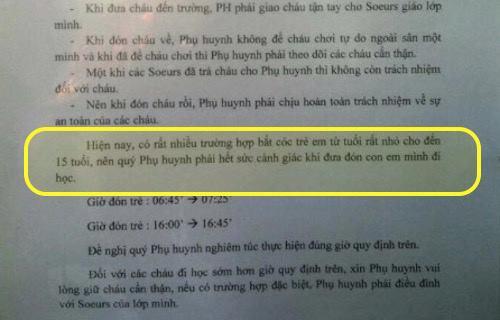 tp.hcm: truong hoc siet an ninh sau tin don bat coc tre - 2