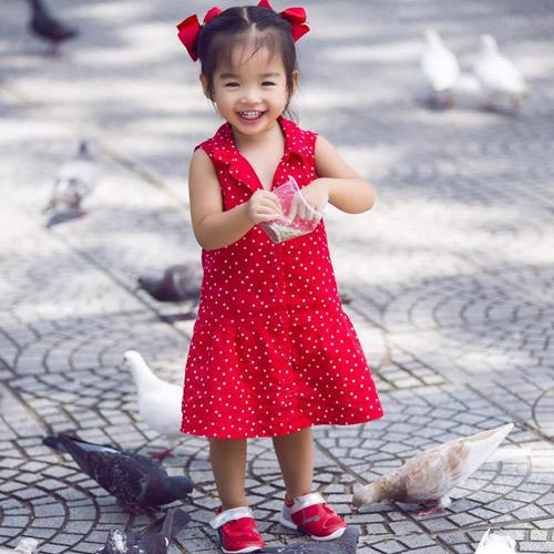 con gai xuan lan dien vay bale xinh nhu cong chua nho - 8