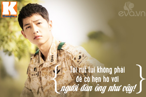 """Đo độ """"mặt dày"""" của Song Joong Ki trong Hậu duệ mặt trời-2"""