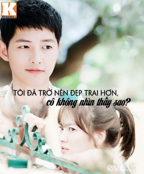 """Đo độ """"mặt dày"""" của Song Joong Ki trong Hậu duệ mặt trời-3"""