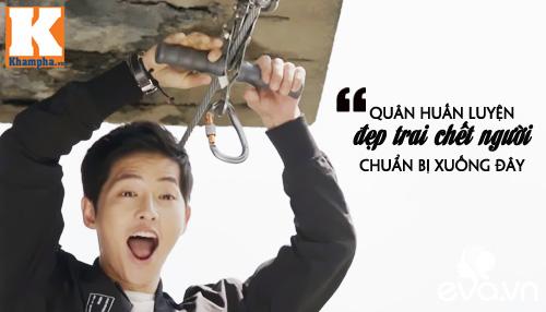 """Đo độ """"mặt dày"""" của Song Joong Ki trong Hậu duệ mặt trời-4"""