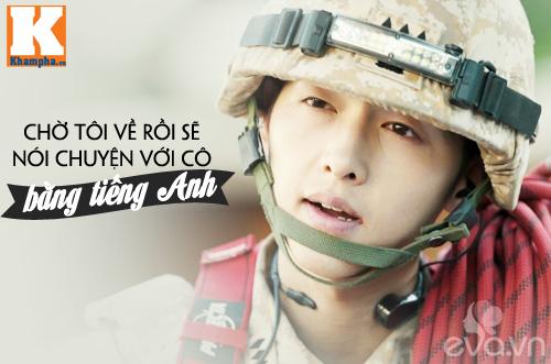 """Đo độ """"mặt dày"""" của Song Joong Ki trong Hậu duệ mặt trời-9"""