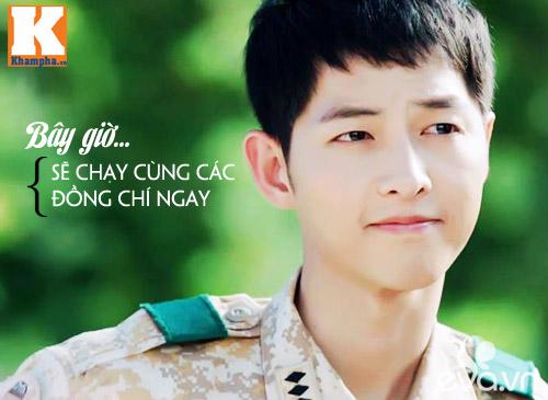 """Đo độ """"mặt dày"""" của Song Joong Ki trong Hậu duệ mặt trời-10"""