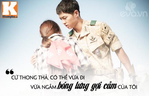 """Đo độ """"mặt dày"""" của Song Joong Ki trong Hậu duệ mặt trời-11"""