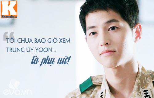 """Đo độ """"mặt dày"""" của Song Joong Ki trong Hậu duệ mặt trời-13"""