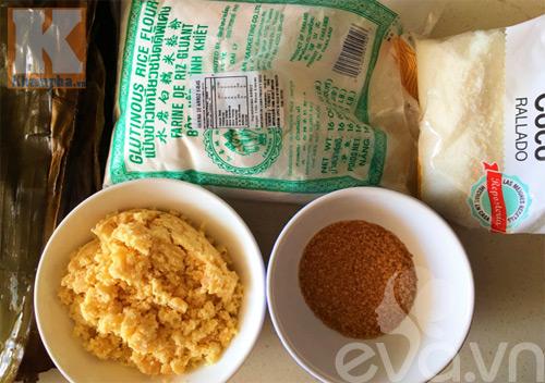 Bữa sáng giản dị với bánh nếp nhân đậu xanh dừa-1