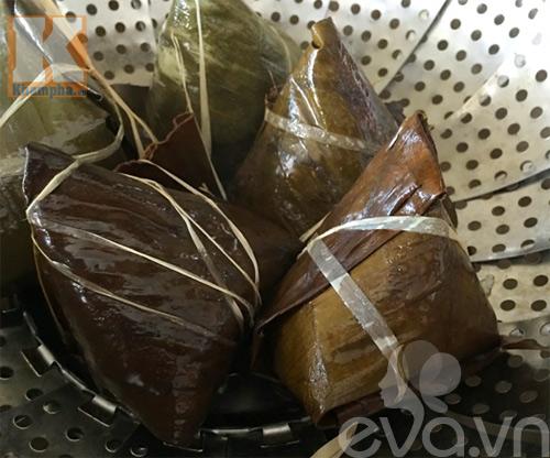 Bữa sáng giản dị với bánh nếp nhân đậu xanh dừa-10