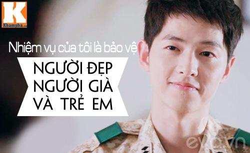 """""""dai uy"""" song joong ki bi dan anh danh bai - 5"""