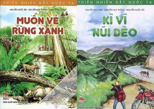 """""""thien nhien dat nuoc ta"""": cam nang thu vi ve non song viet cho thieu nhi - 2"""