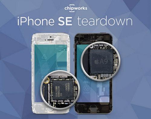 """Mổ chi tiết iPhone SE: """"vỏ 5s và ruột 6s""""-1"""