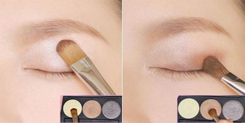 Trang điểm mắt búp bê long lanh - 9
