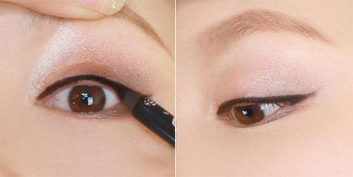 Trang điểm mắt búp bê long lanh - 13